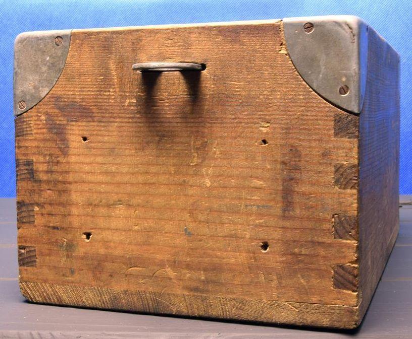 Navy Ditty Box Sea Chest Or Sea Trunk Eigentum Effecten