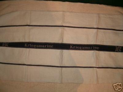 WWII Kriegsmarine Hand Towel)