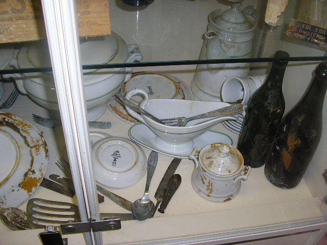 kriegsmarine uboat u534 salvaged items
