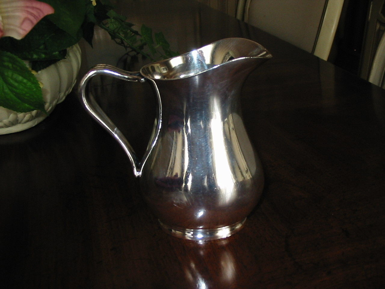 us navy officer mess with USN silverplated personal creamer