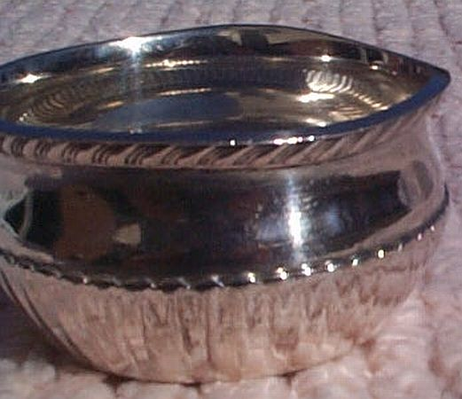 us navy captains mess silverplated desktop ashtray