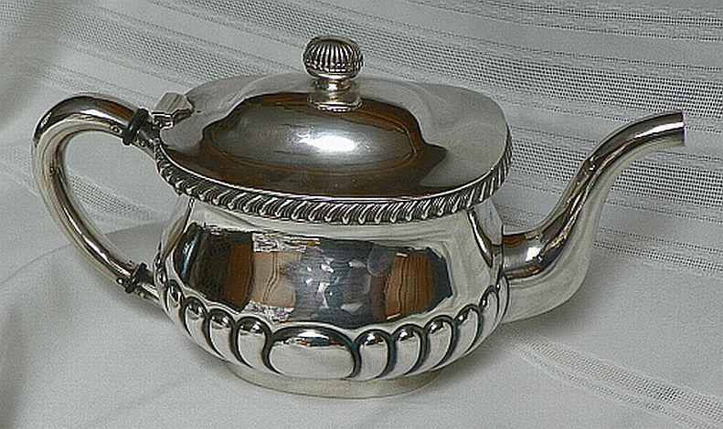 Dated 1940 WWII US Navy Teapot for the Captains Mess