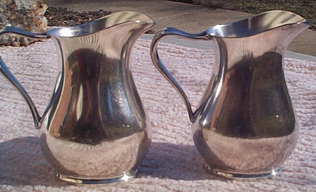 us navy officers mess silverplated table creamer 1943 and 1945