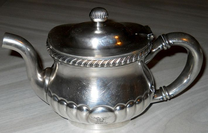 early 1900's US Navy Teapot for the Captains Mess