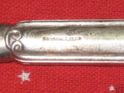 royal italian navy carving knife mark of 1939