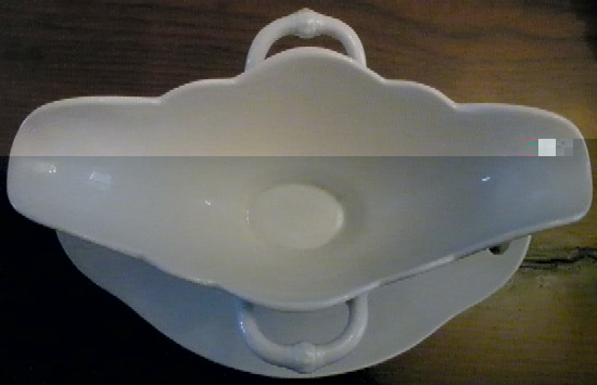 Italian Navy Double Handled Large Gravy Boat