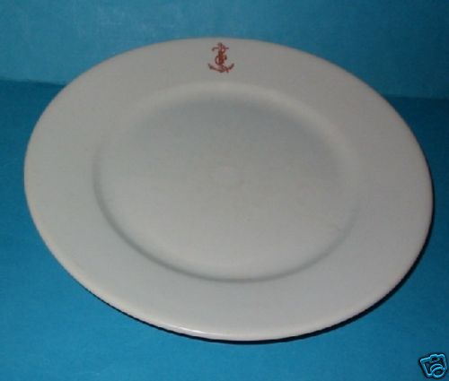 royal italian navy dinner plate officer\u0027s wardroom china ... & Italian Royal Navy China History and Information on Regia Marina ...