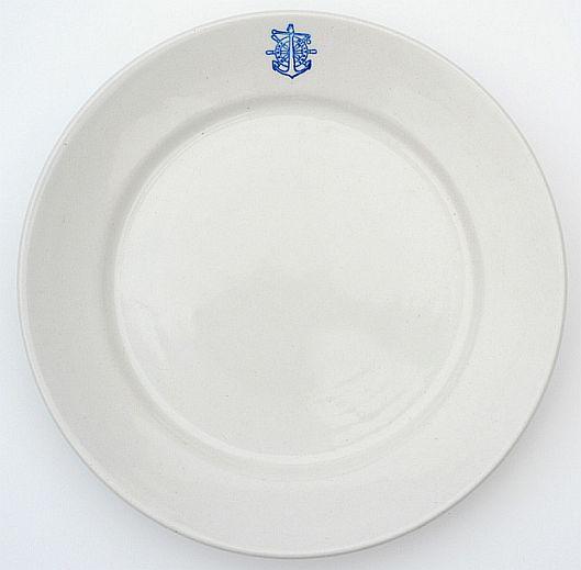 Italian Navy Dinner Plate
