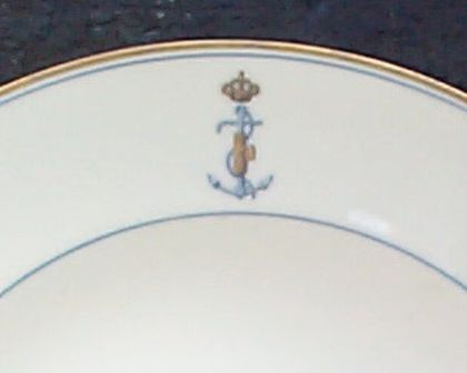 WWII Royal Italian Navy soup bowl