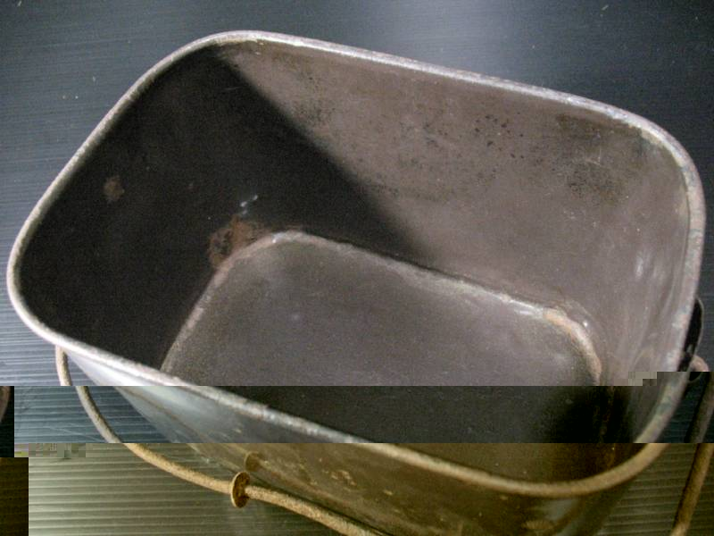 imperial japanese navy enlisted cream rice can or bucket handle