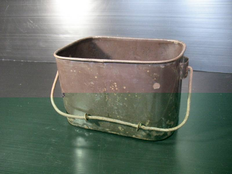 imperial japanese navy cream rice bucket or can