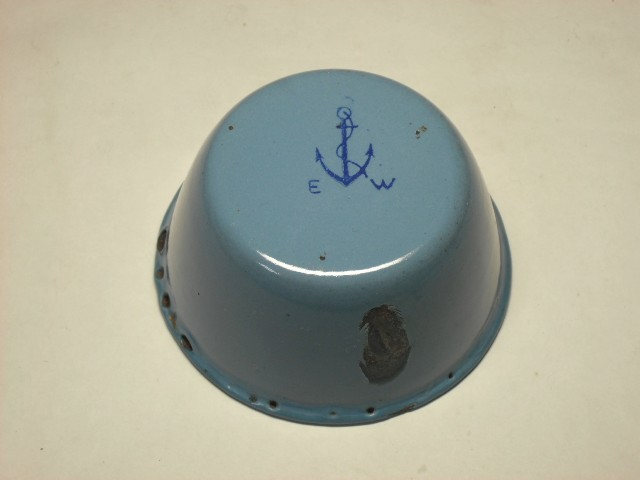 imperial japanese navy enamel soup cup