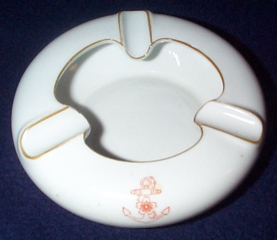 imperial japanese navy formal after dinner ash tray