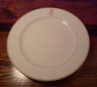 imperial japanese navy bread and roll plate