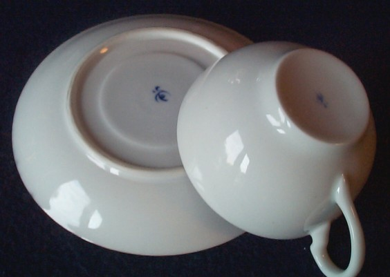 imperial japanese navy china cup and saucer bottom
