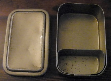 imperial japanese navy naval infantry field mess kit, cup