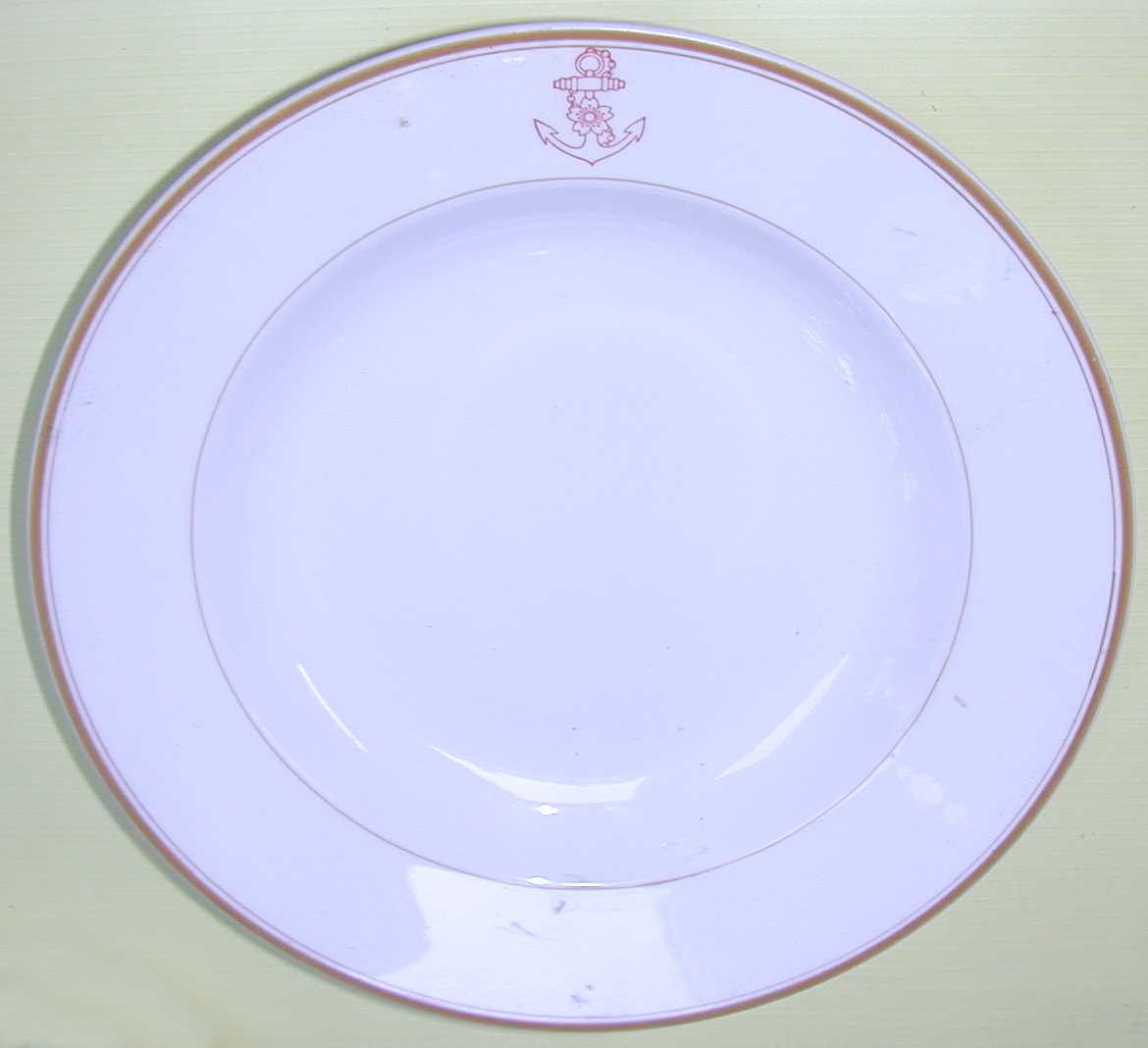 imperial japanese navy officers soup bowl