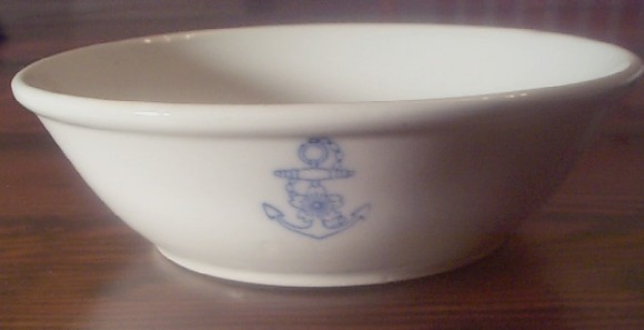 WWII Imperial Japanese soup bowl Dinnerware