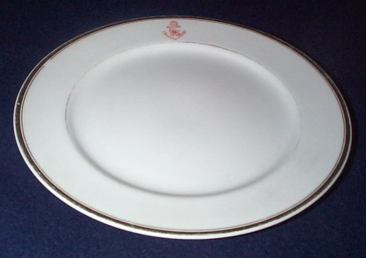 imperial japanese navy dinner plate