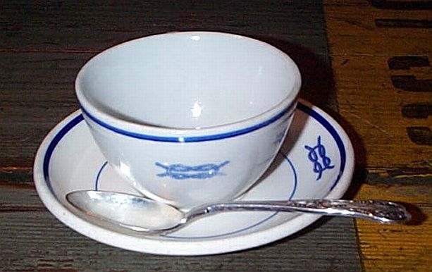 junior officer demitasse coffee set
