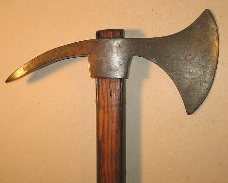swedish naval boarding ax model 1780 for sale