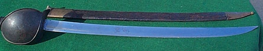 french naval cutlass m1833 dated 1842 #11