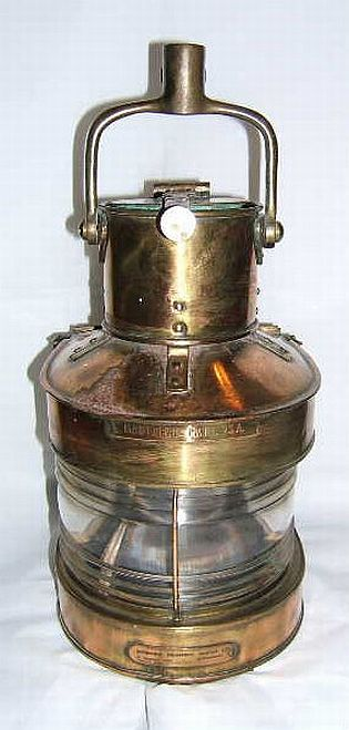 Ships Navigation Lights By Birmingham Engineering Of
