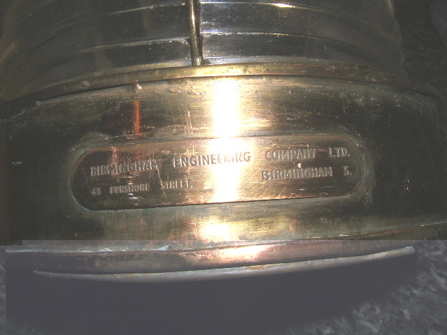WWII Birmingham Engineering Company Masthead Navigation Light