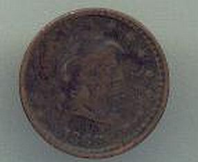 Civil War Token, Our Navy Dated 1863