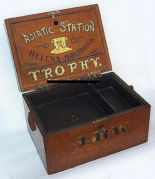 us navy 1902-1906 asiatic fleet ditty box