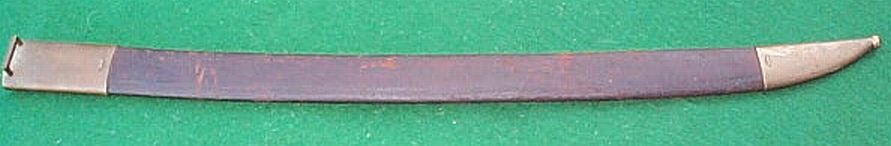 french m1833 naval cutlass obverse scabbard