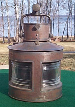 GP Ltd WWII Ships Navigation Light dated 1944