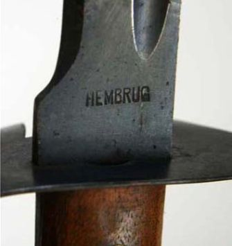 hembrug marked blade
