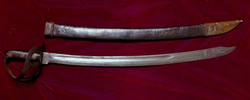 klewang cutlass m1898 with scabbard