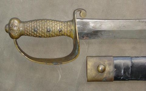 m1841 brass hilt and scabbard