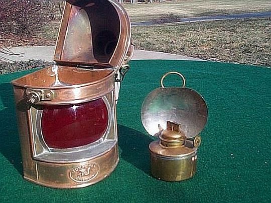 Ships Navigation Light Tung Woo Hong Kong Nautical