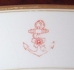 Imperial Japanese Navy Serving Platter, WWII