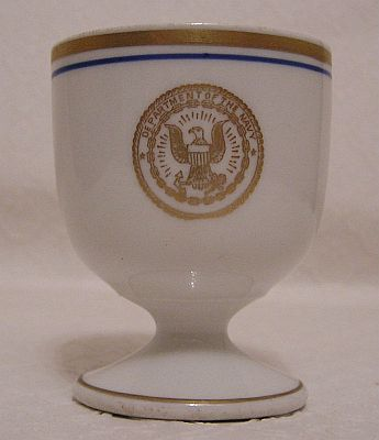 us navy antique officers rum cup or liqueur cup