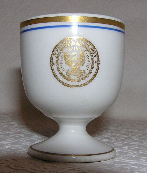 WWI 1918 Department of Navy Rum Cup, Shot Glass or Liqueur Cup