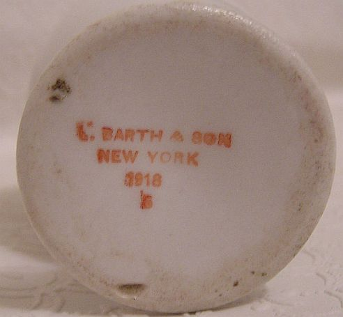 Bottom Marked C. Barth & Son New York 1918