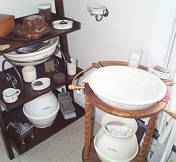 Sanitaryware or Hygieneware Collection at The Pirates Lair