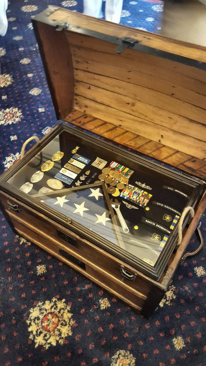 army navy retirement shadow box ideas or military shadow box idea as