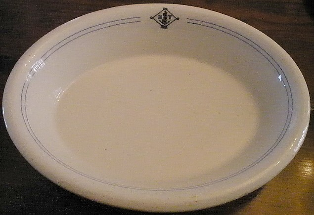 NY Naval Militia Serving Bowl
