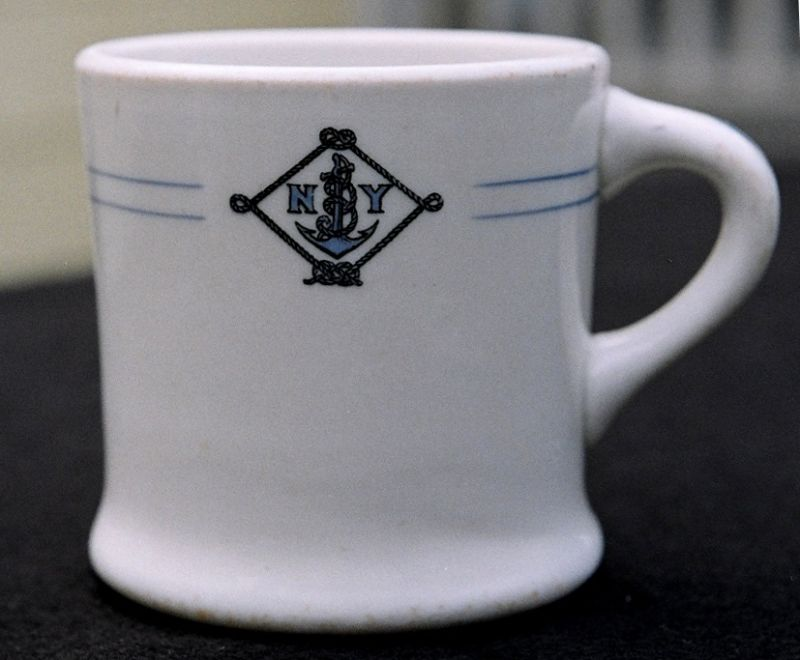 NYNM Coffee Mug 1930's to 1940