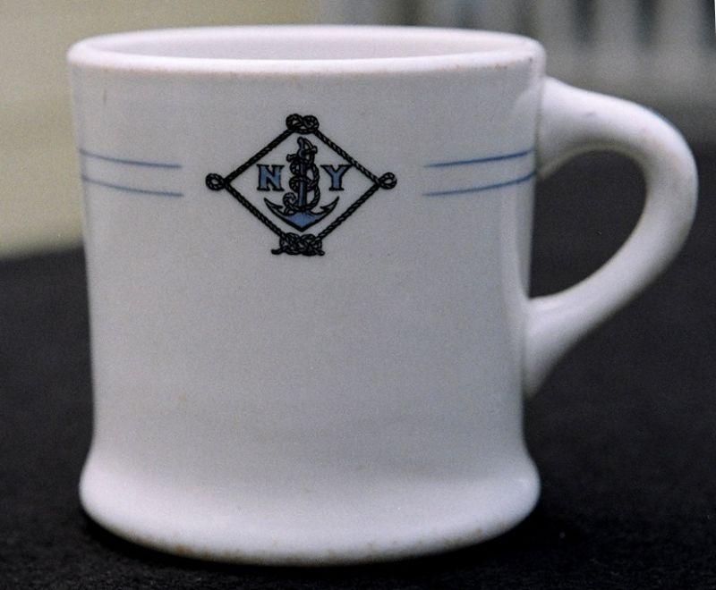 NYNM Coffee Mug 1930's to 1940