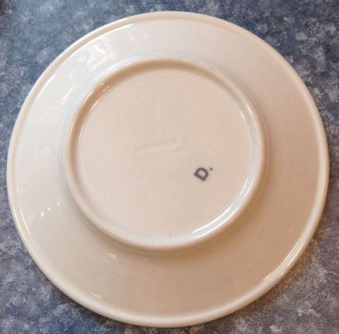 NYNM salad plate 1930's to 1940