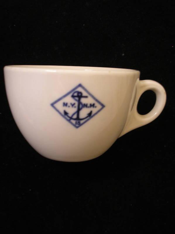 NYNM Coffee Cup Ca 1933