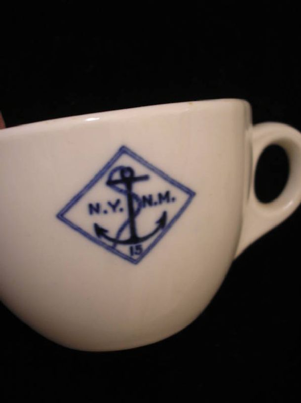 NYNM Coffee Cup ca 1933
