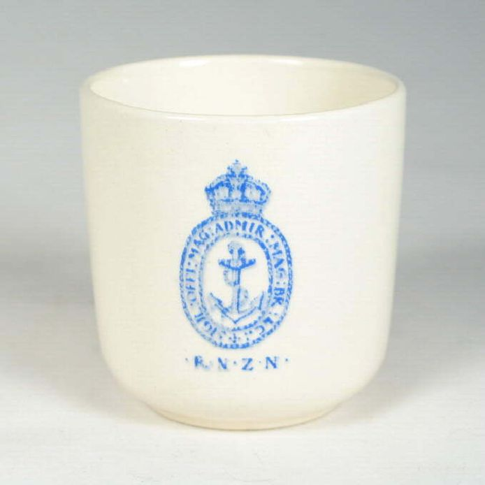 royal new zealand navy officer's wardroom demitasse cup