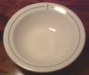 royal norwegian china navy soup bowl, norwegian dinnerware